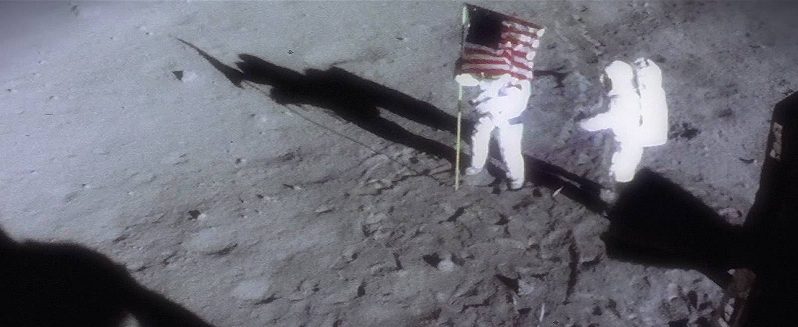 The first watch on the Moon